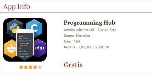 programming hub aplikasi untuk pemrograman yang menunjang mahasiswa
