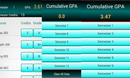 gpa calculator aplikasi untuk menghitung ipk nilai