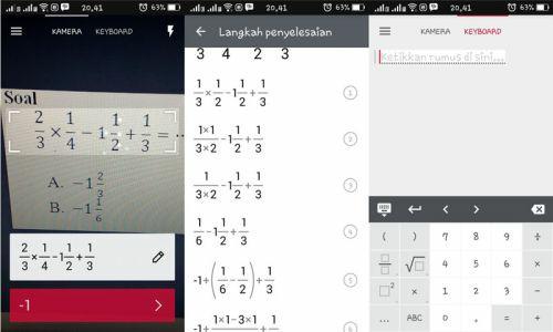 photomath aplikasi penunjang mahasiswa untuk mengerjakan soal matematika