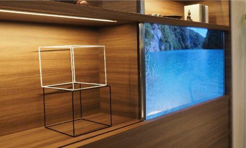 tv masa depan telah hadir tv tembus pandang transparan