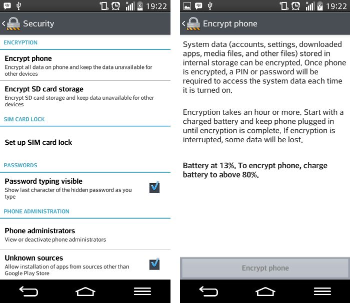 encryption-android